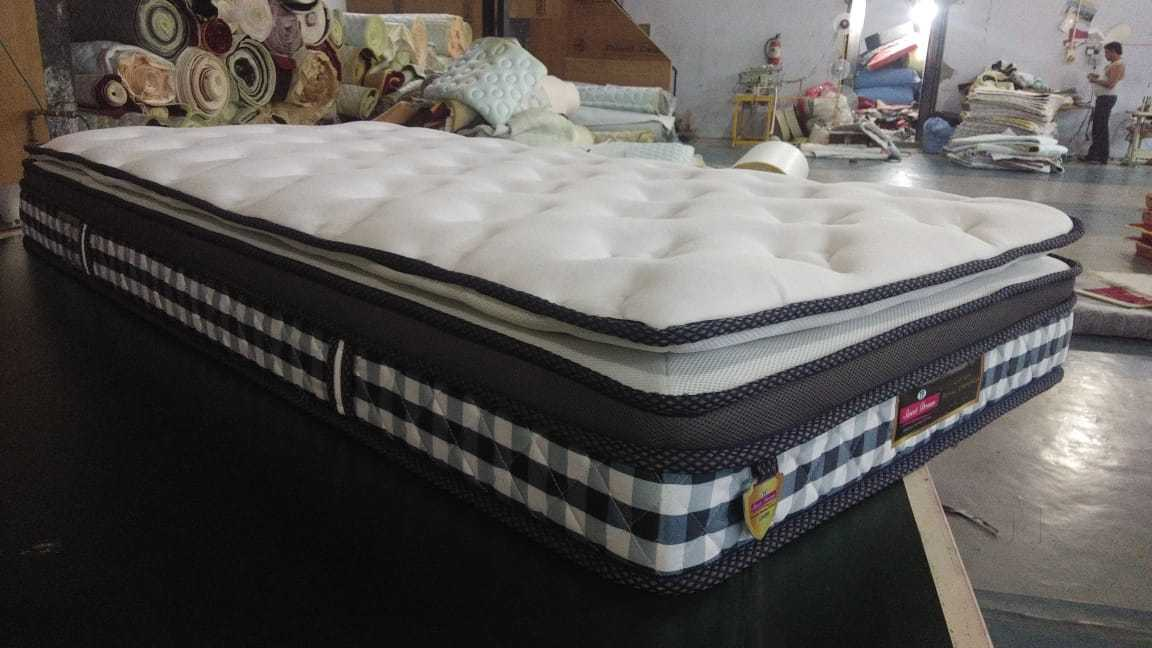 What does a twin-size mattress look like?