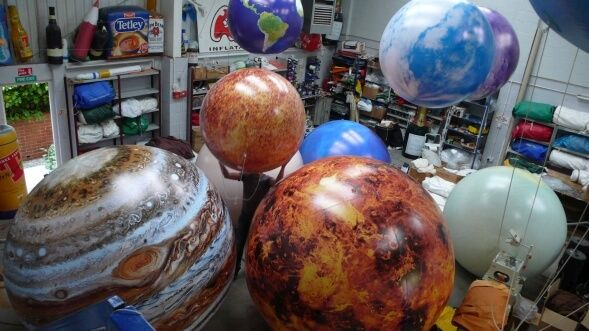 Why Inflatable Planets Are Great For Space Themed Parties?