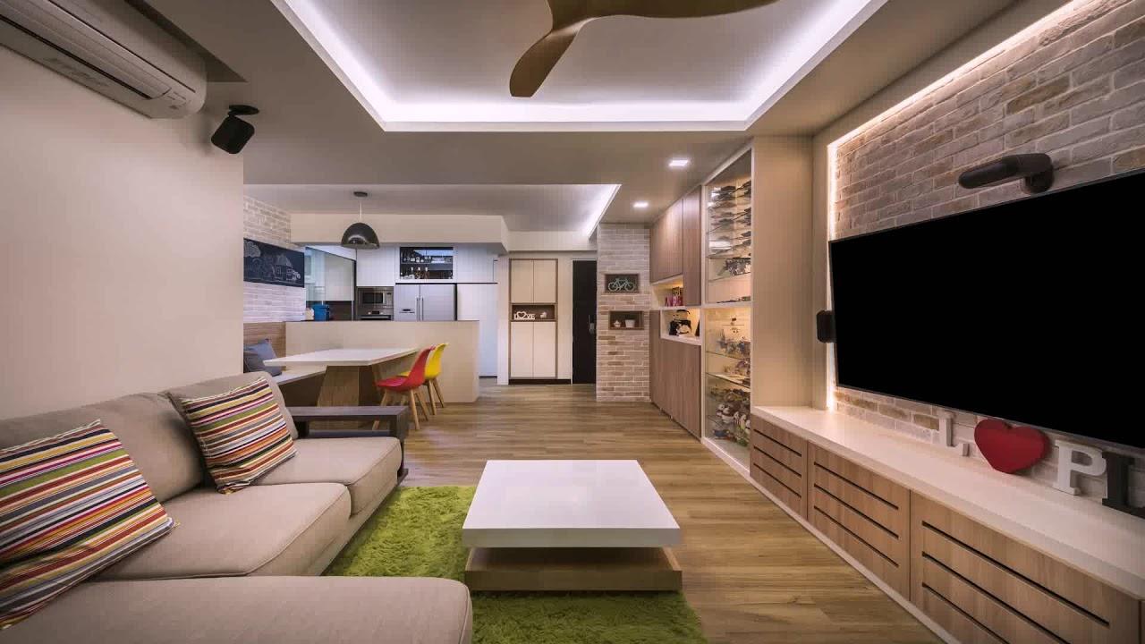 hdb 3 room resale flat interior design
